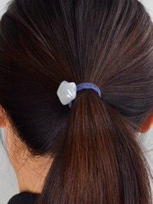 Blue Pentagram Hair Ring