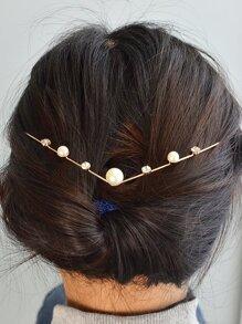 Pearl Flower Headband