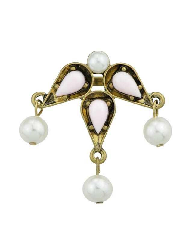 Pink Pearl Gemstone Ring все цены