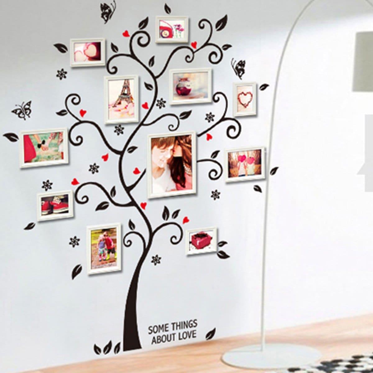 Foto decor boom muur sticker