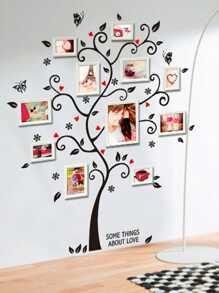 Photo Frame Tree Wall Decal