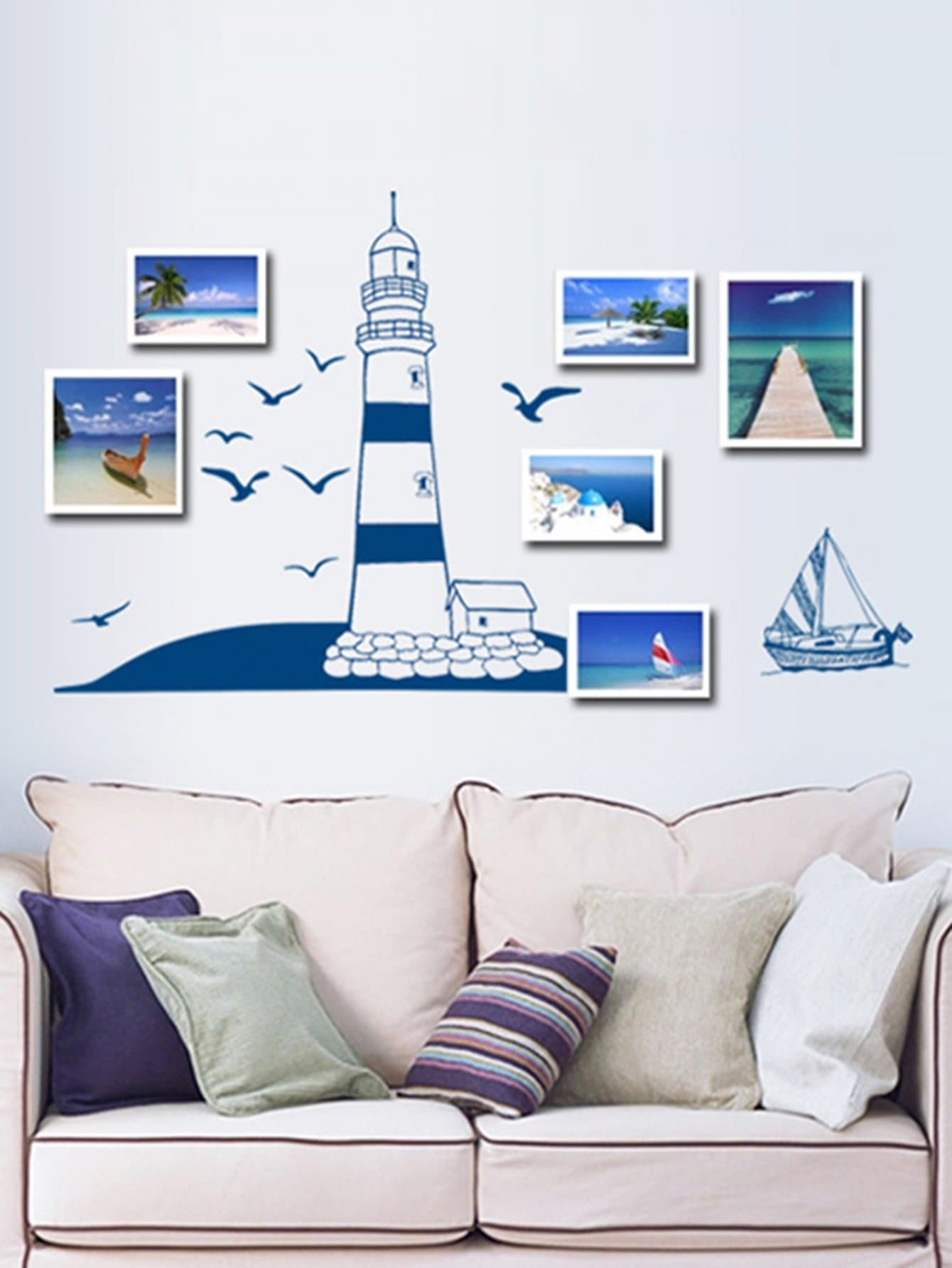 Фото Photo Frame Wall Decal family wall quote removable wall stickers home decal art mural