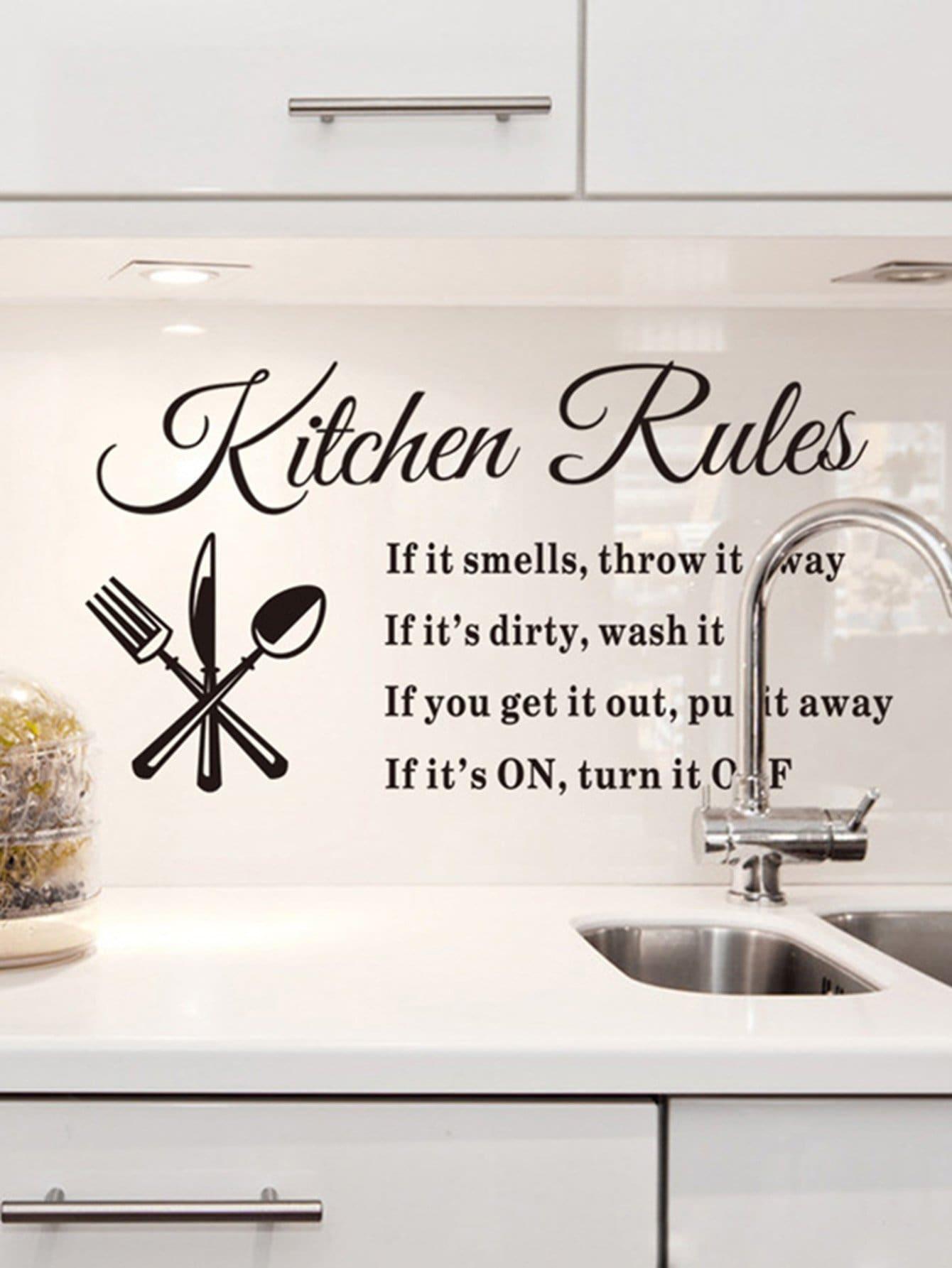 Купить Прозрачные стены наклейки кухня, null, SheIn
