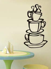Cup Coffee Wall Decal