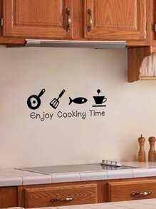 Cartoon Kitchen Wall Sticker