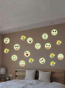 Luminous Emoji Wall Sticker