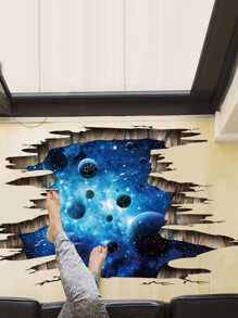 3D Galaxy Wall Sticker