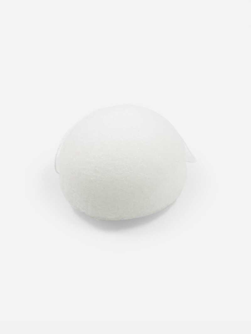 Jelly Facial Cleansing Sponge, White