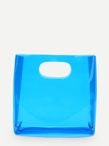 Clear Portable Tote Bag