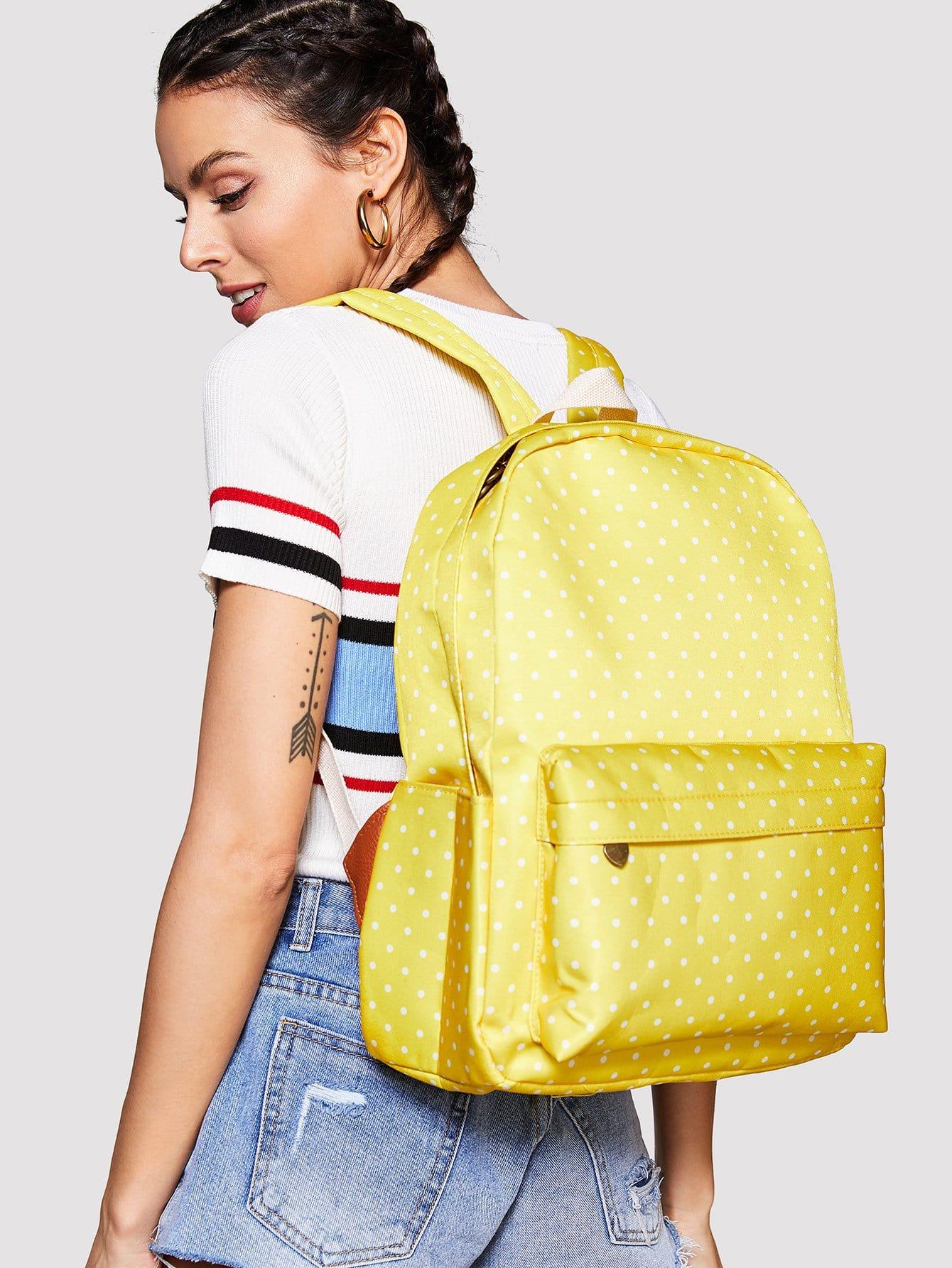 Polka Dot Backpack polka dot backpack