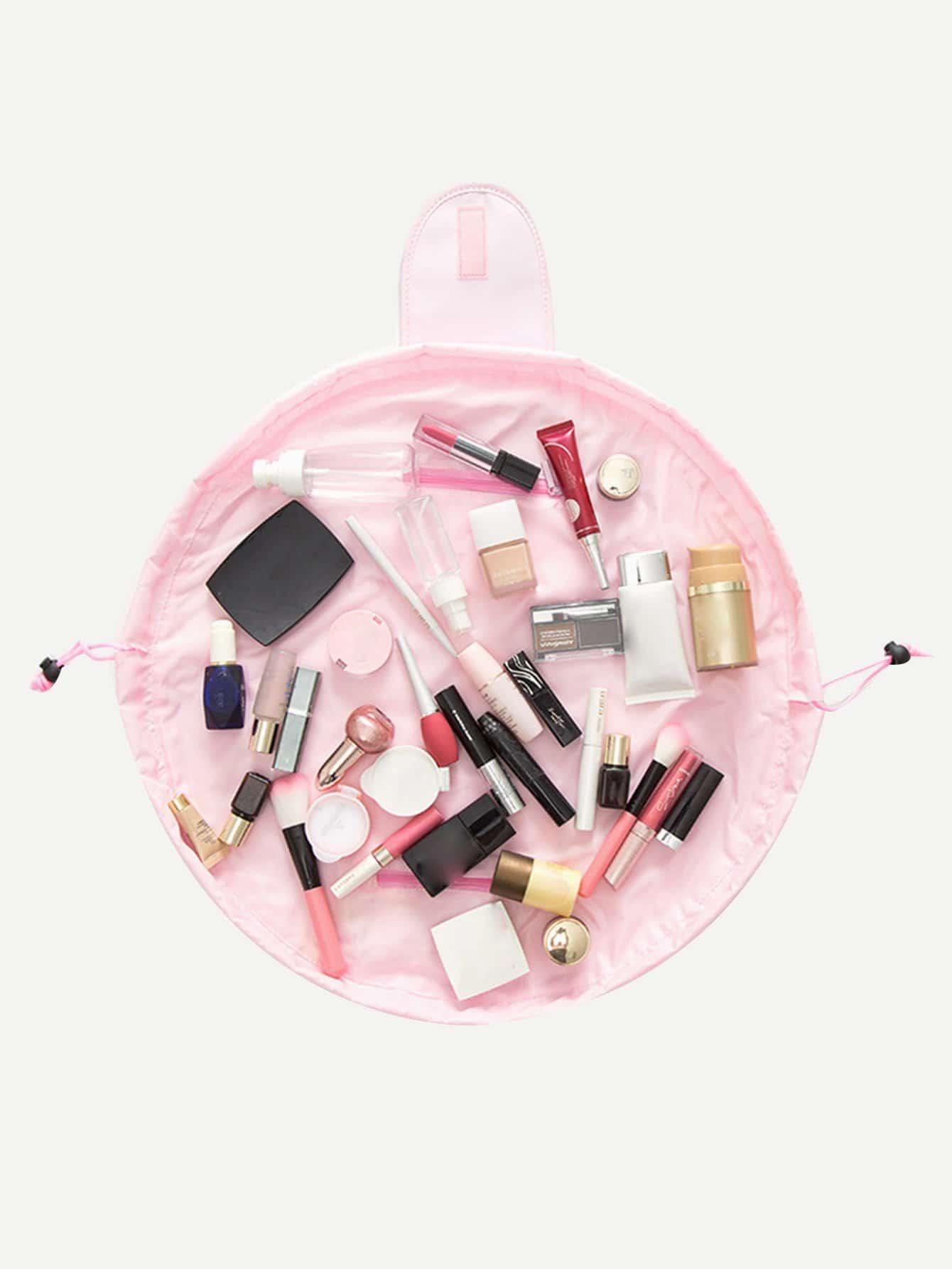 Drawstring Wrap Around Makeup Bag drawstring wrap around makeup bag