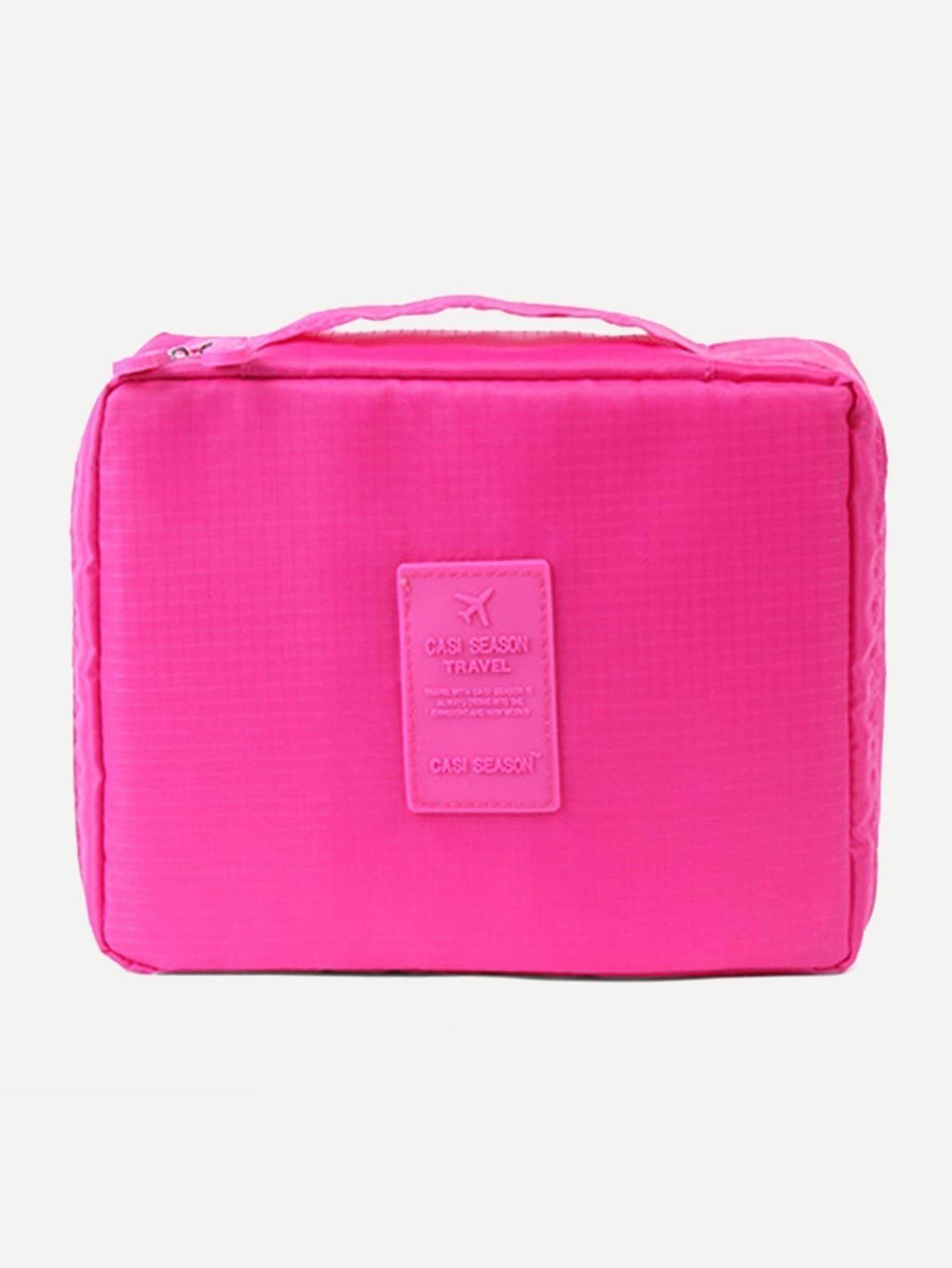 Фото Makeup Organizer Bag makeup organizer travel bag women cosmetic bags summer dumpling clutch women packages waterproof cosmetic bag handbag