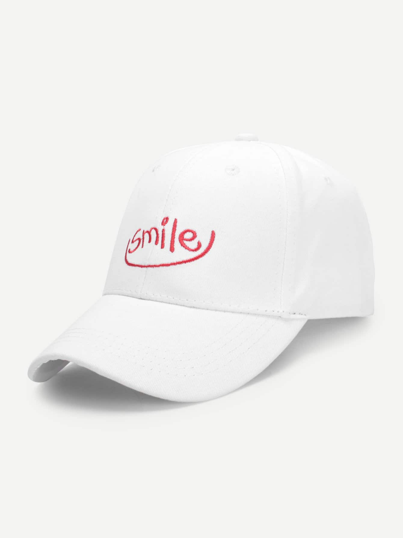 Embroidered Letter Baseball Cap embroidered food baseball cap