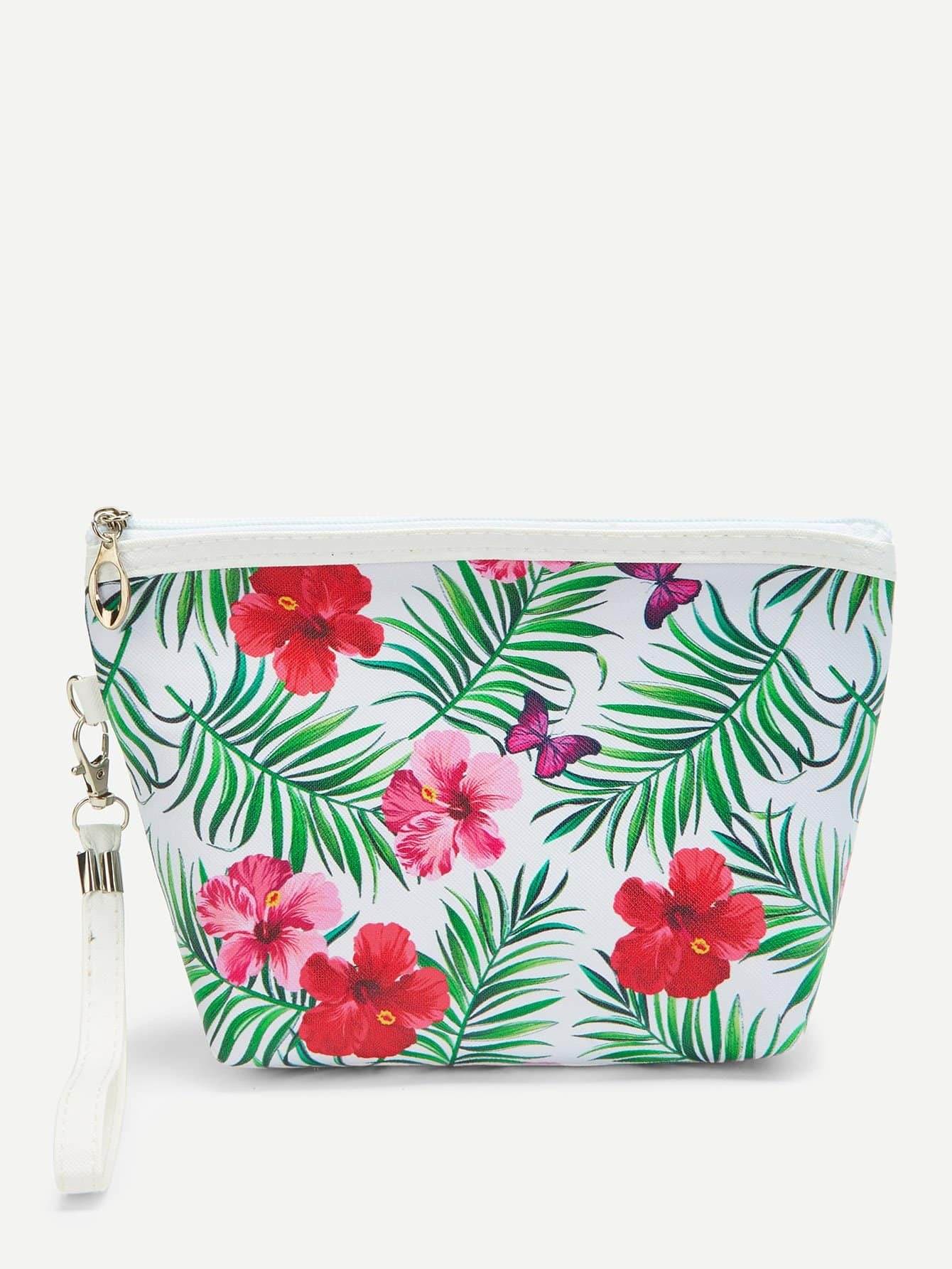 Flower Print Makeup Bag fashion women travel kit jewelry organizer makeup cosmetic bag