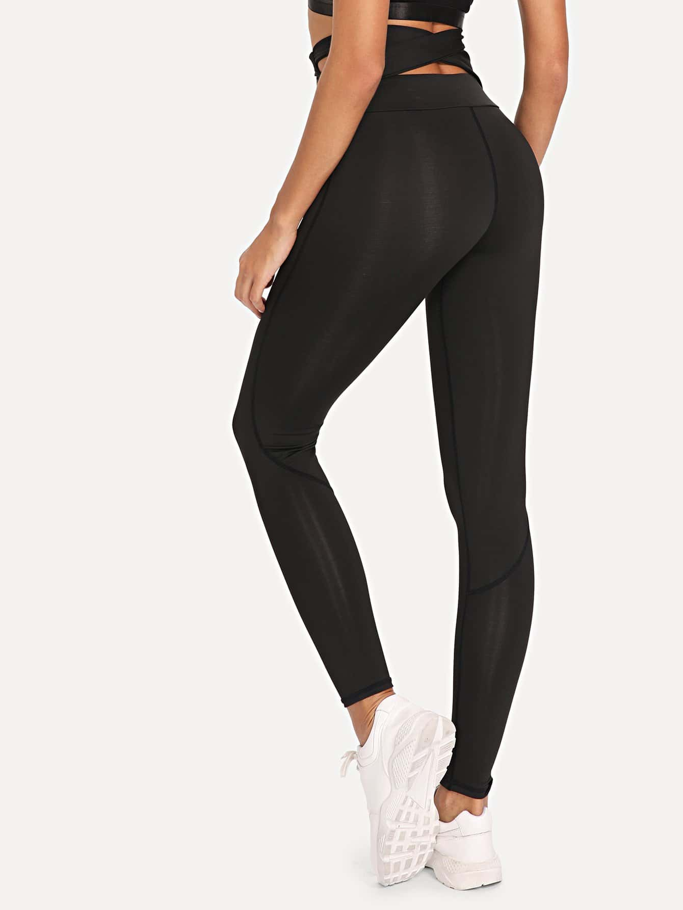 Cross Back High Waist Leggings колесные диски nz wheels f 57 6 5x16 5x114 3 d60 1 et45 sf