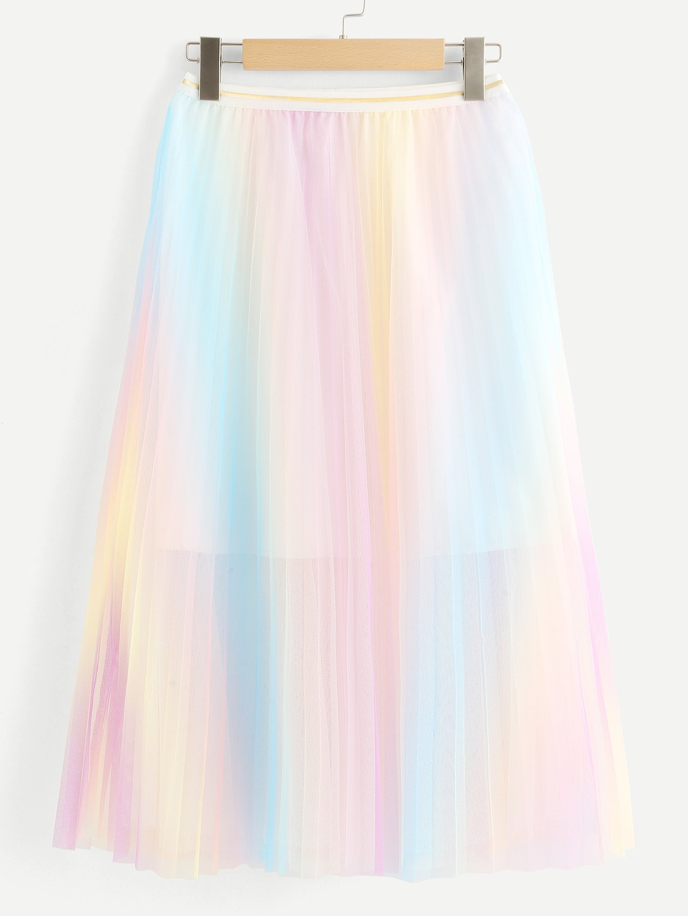 Pleated Mesh Skirt стульчик chicco new polly sea dreams