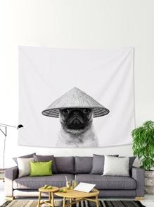 Dog Print Tapestry