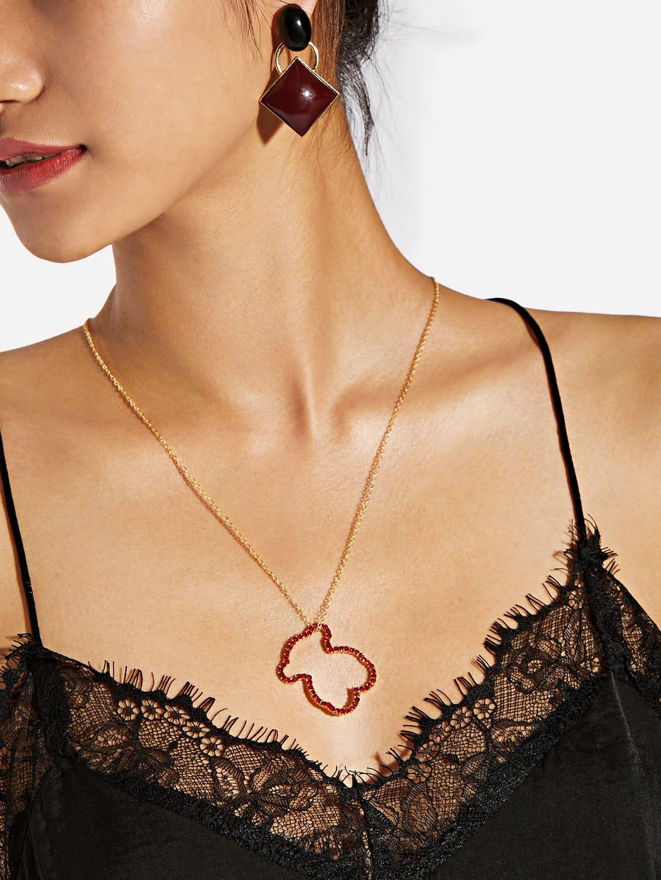 Ожерелье из нержавейки от SheIn
