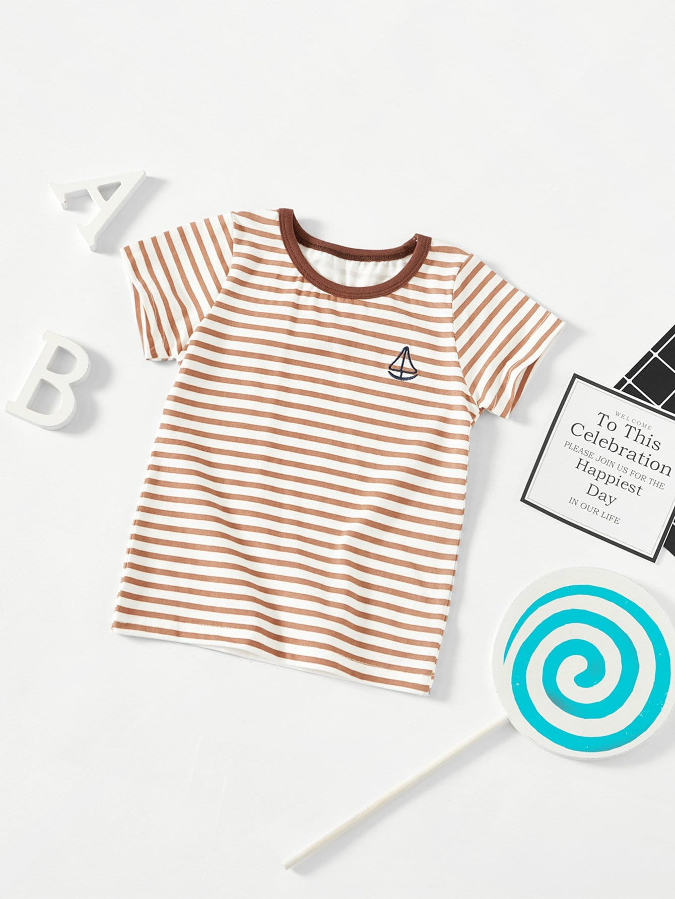 Kids Striped Tee