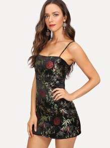 Jacquard Cami Dress