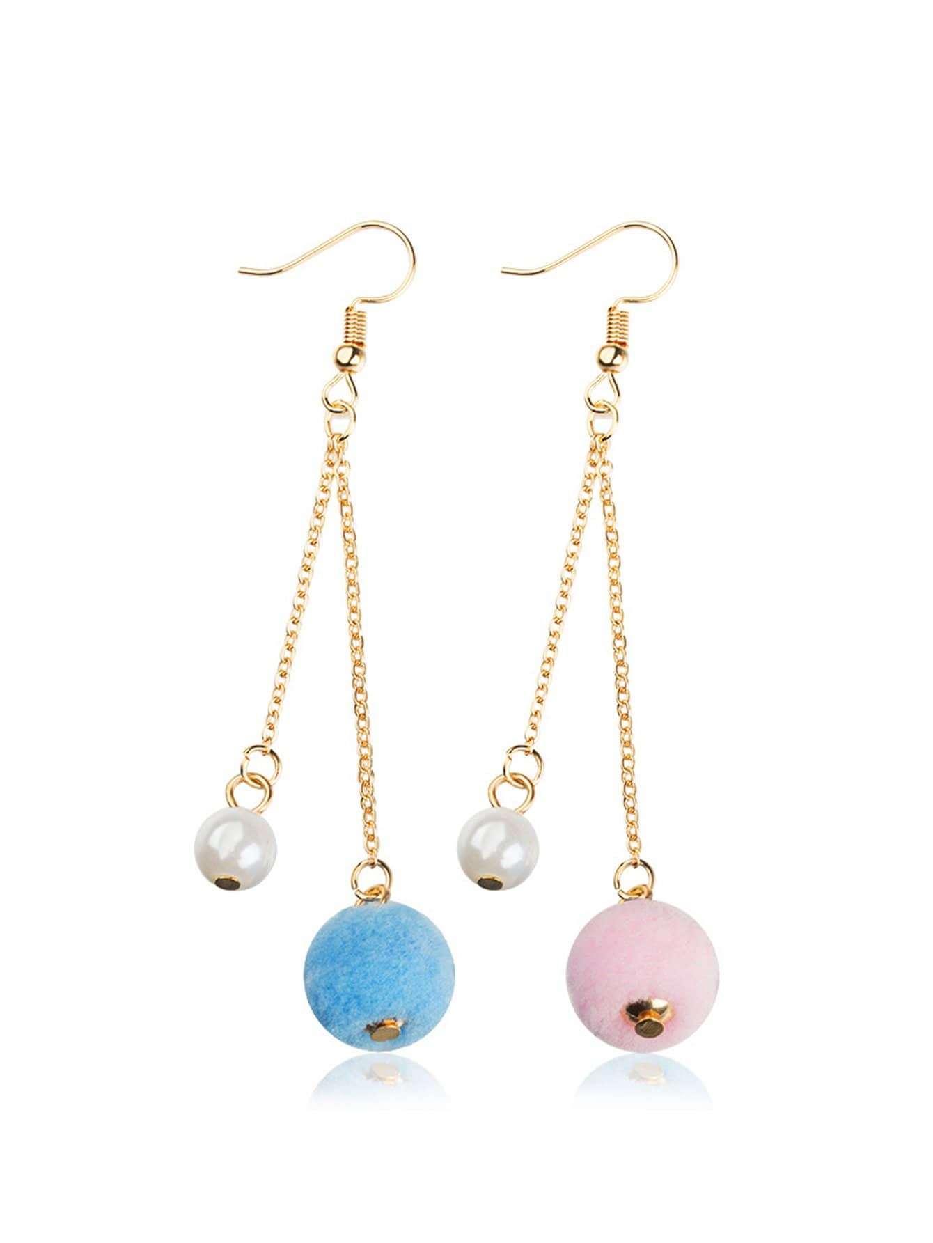 Hairball Drop Earrings