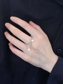 Bar Design Ring Cuff
