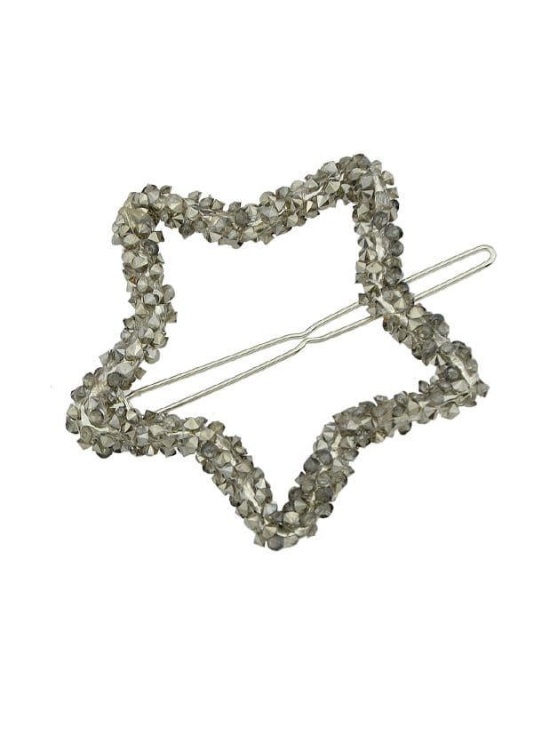 Gunblack Crystal Rhinestone Hair Clip все цены
