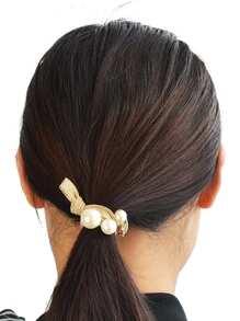 Gold Diamond Cat Hair Ring