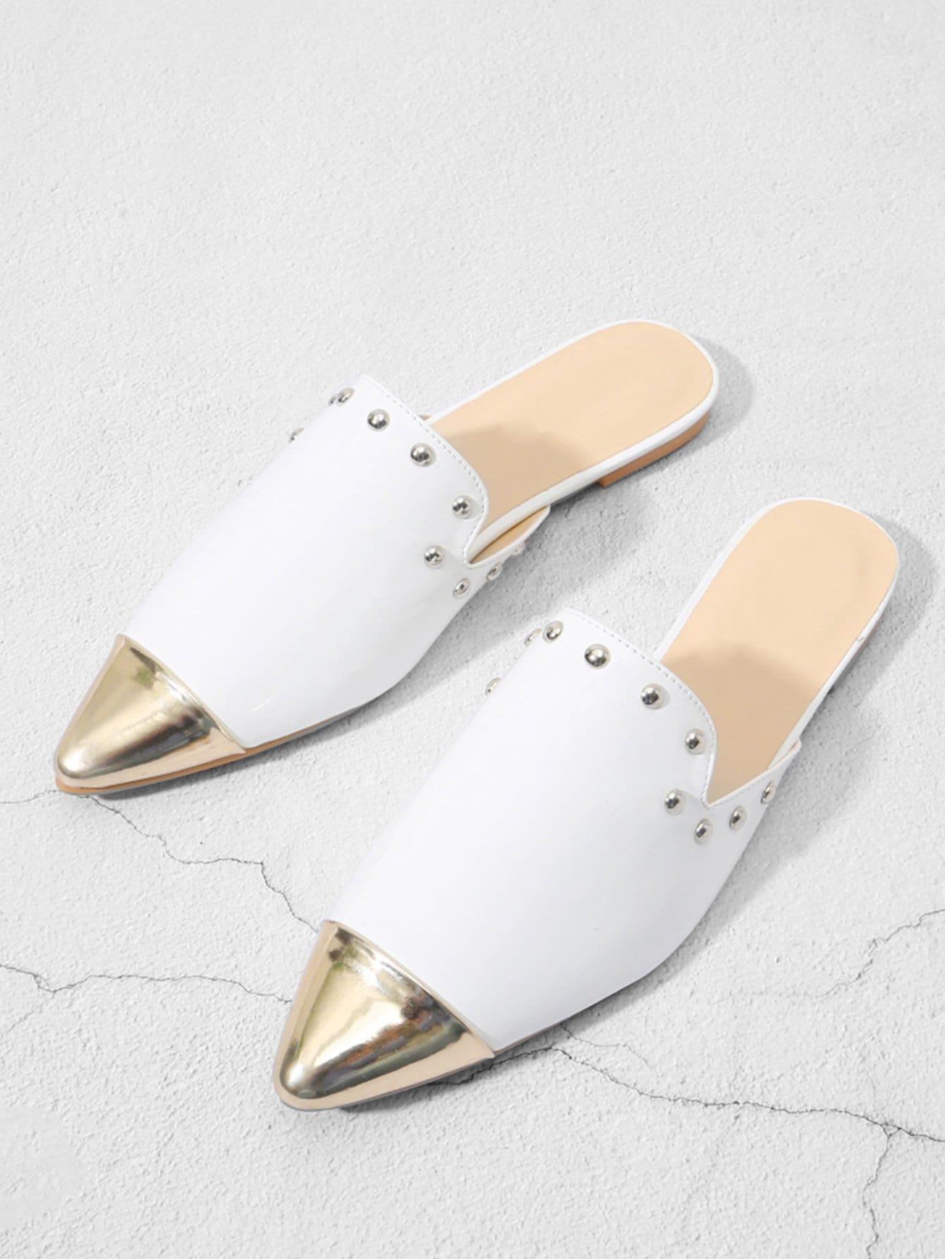 Стильные туфли без задника