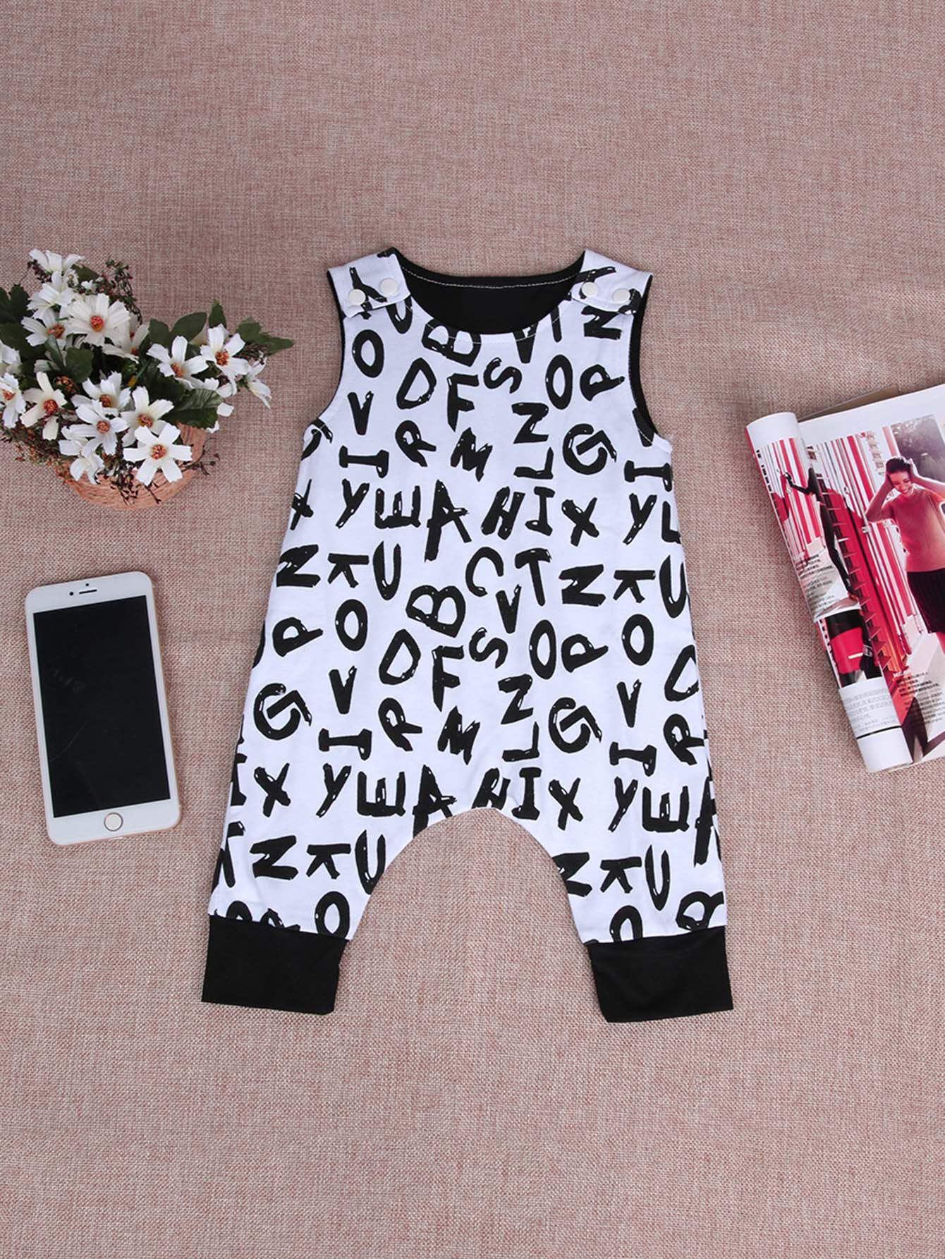 Boys Letter Print Jumpsuit newborn baby rompers clothes cotton ears hooded suits infant jumpsuit outwear animal lion baby boys girls jumpsuit clothing