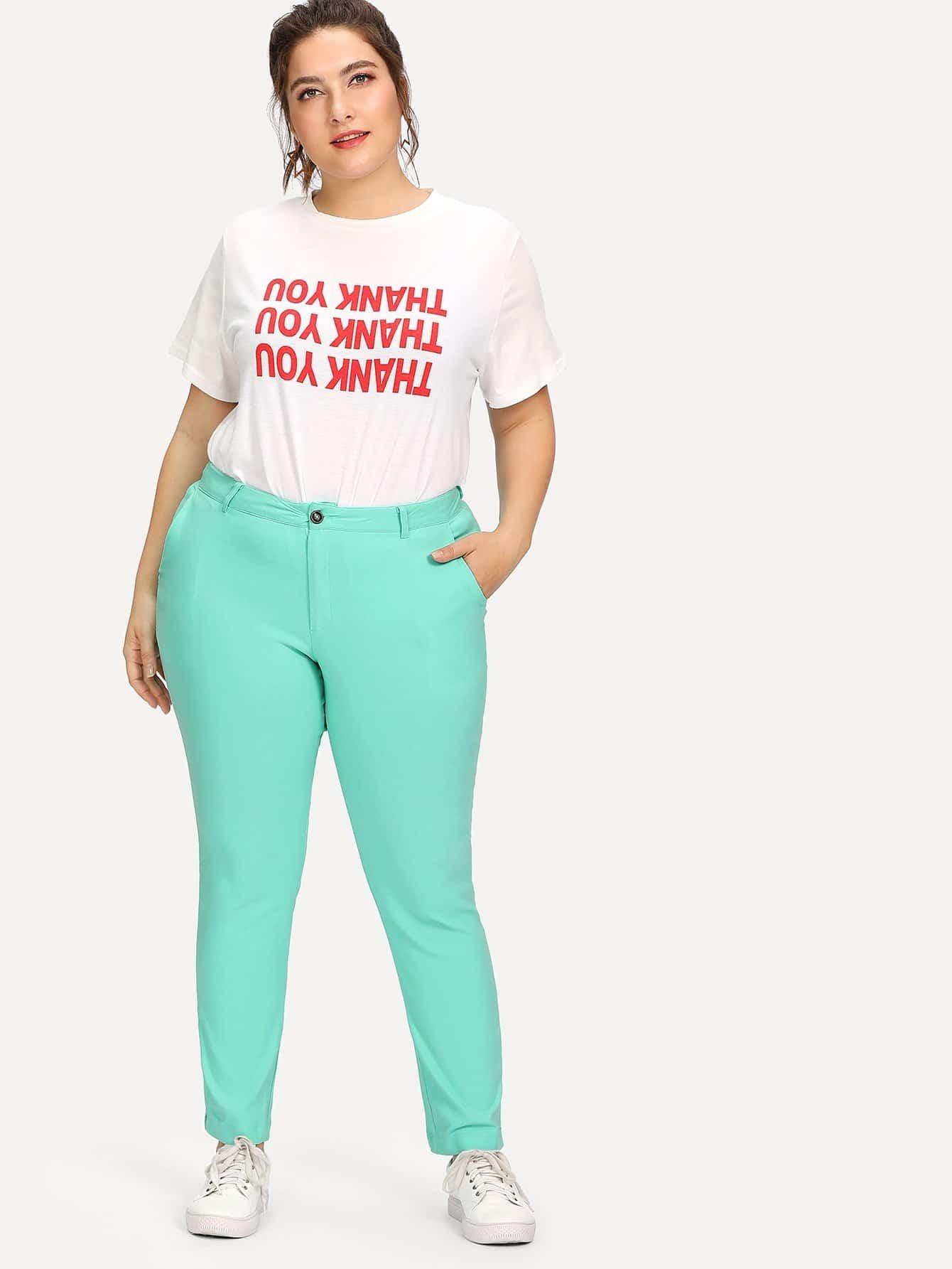 Plus Solid Stretch Pants trendy воск для депиляции зеленый в картридже 100 мл
