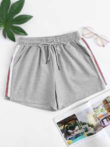 Striped Tape Side Shorts