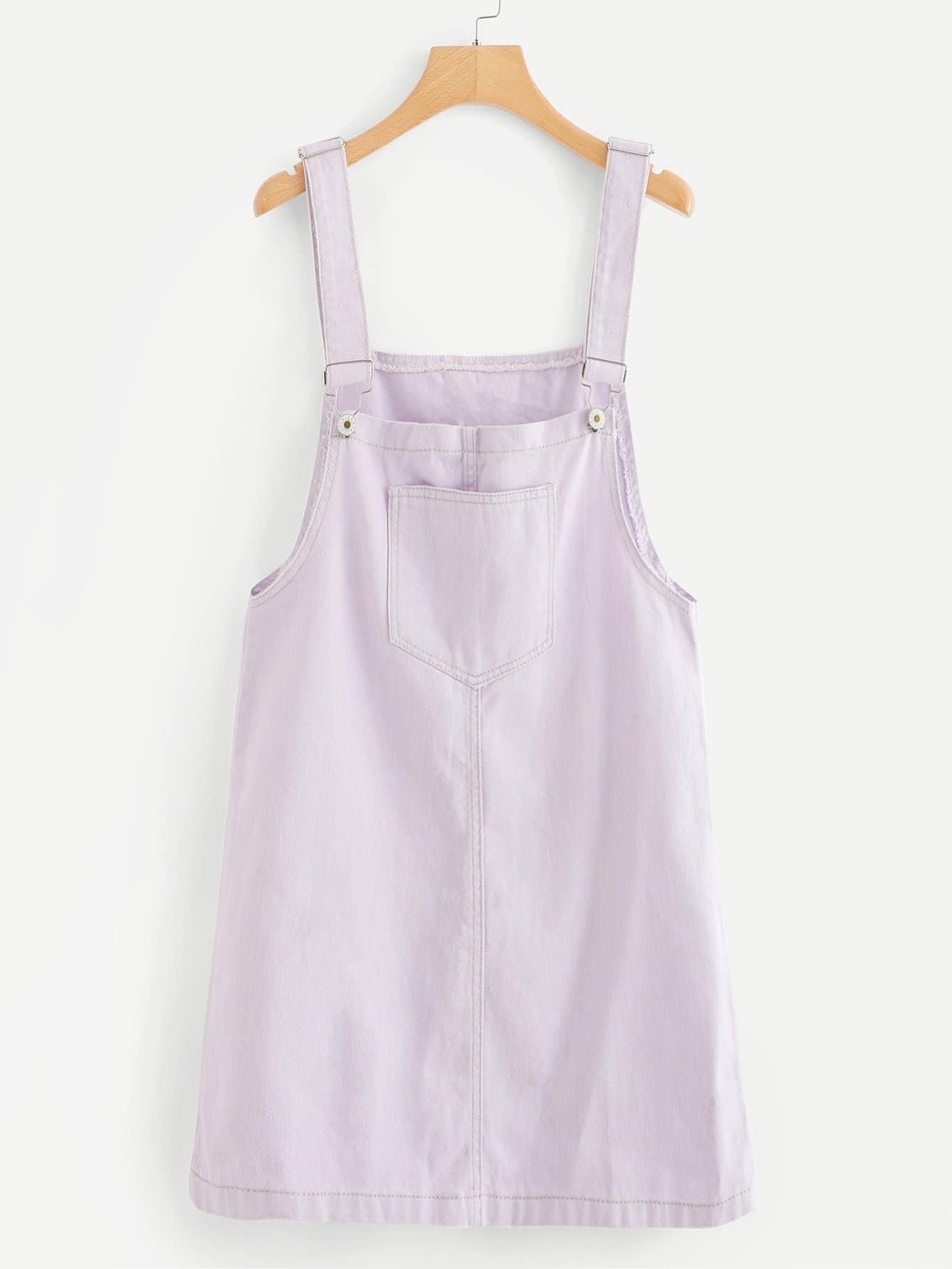 Pocket Denim Dresses
