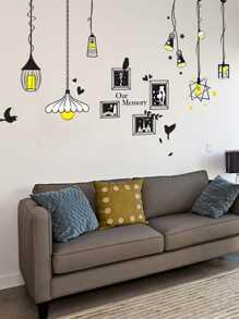 Light & Frame Wall Sticker