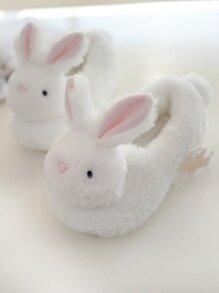 Faux Fur Rabbit Slippers