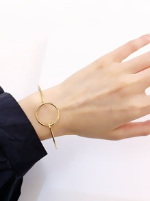 Ring Design Bangle Bracelet