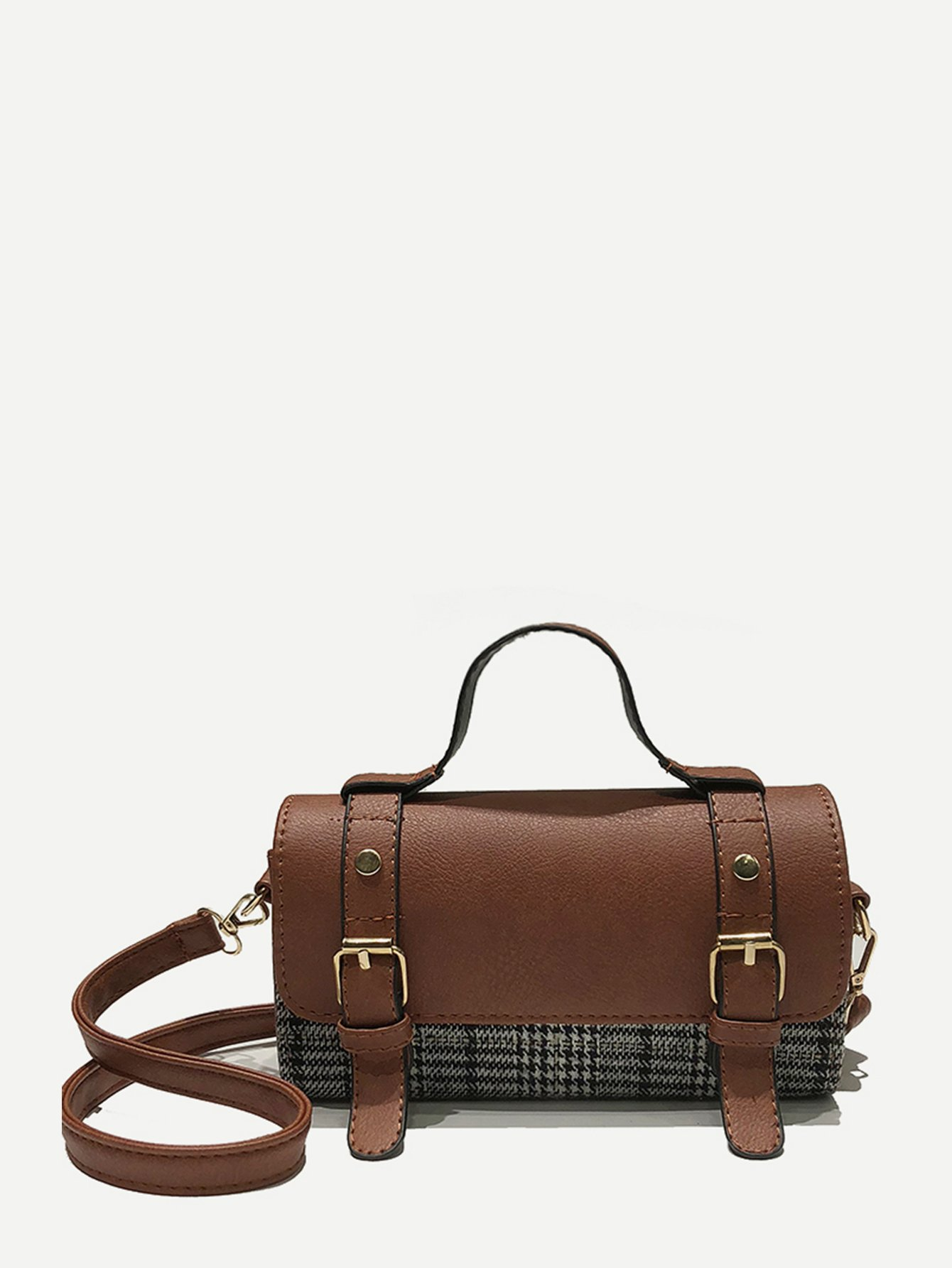 Houndstooth Satchel Bag сумка the cambridge satchel