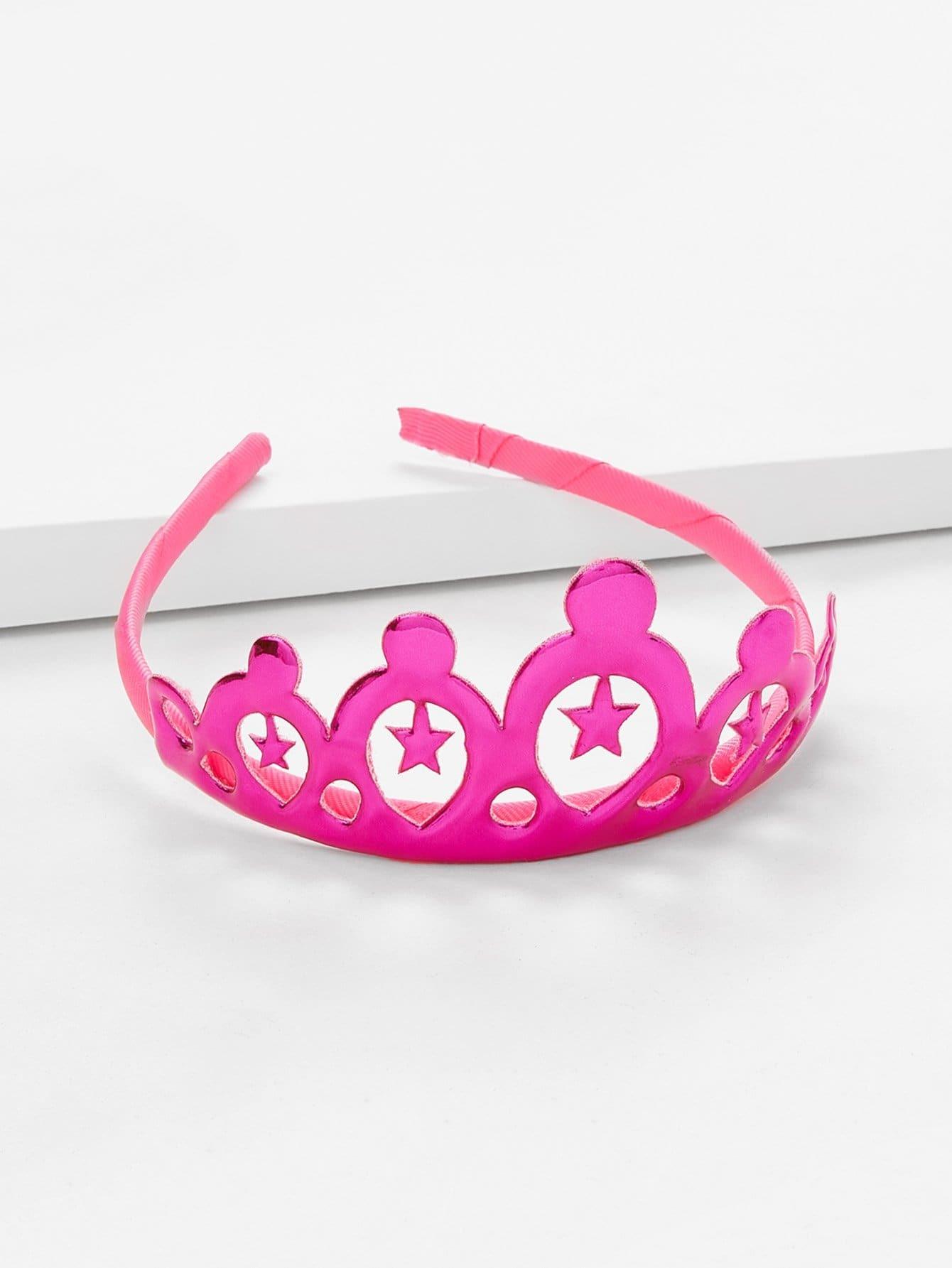 Crown Decorated Headband crown decorated headband