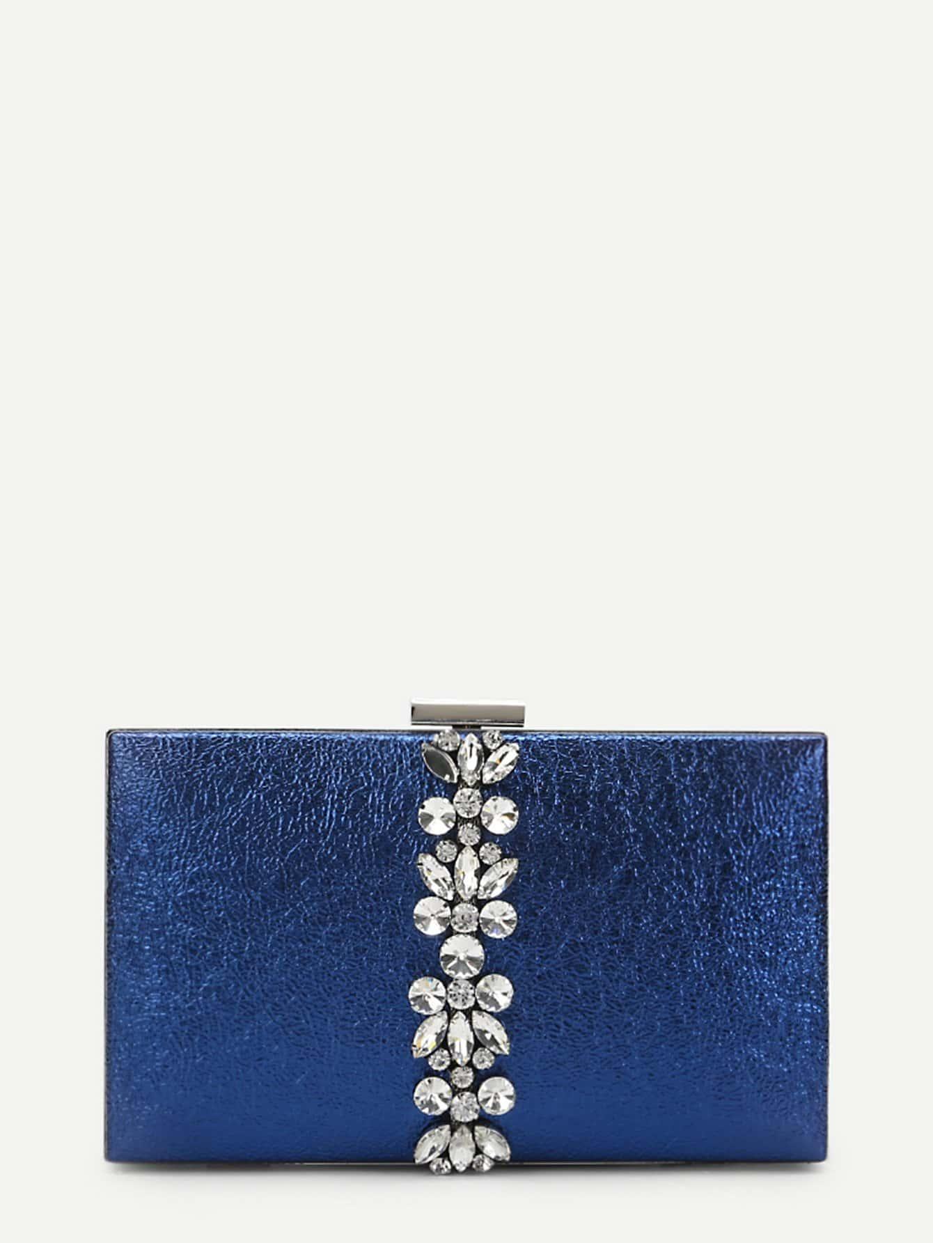 Фото - Rhinestone Decorated Clutch Bag fawziya bird clutch bags for womens evening bag hard case rhinestone