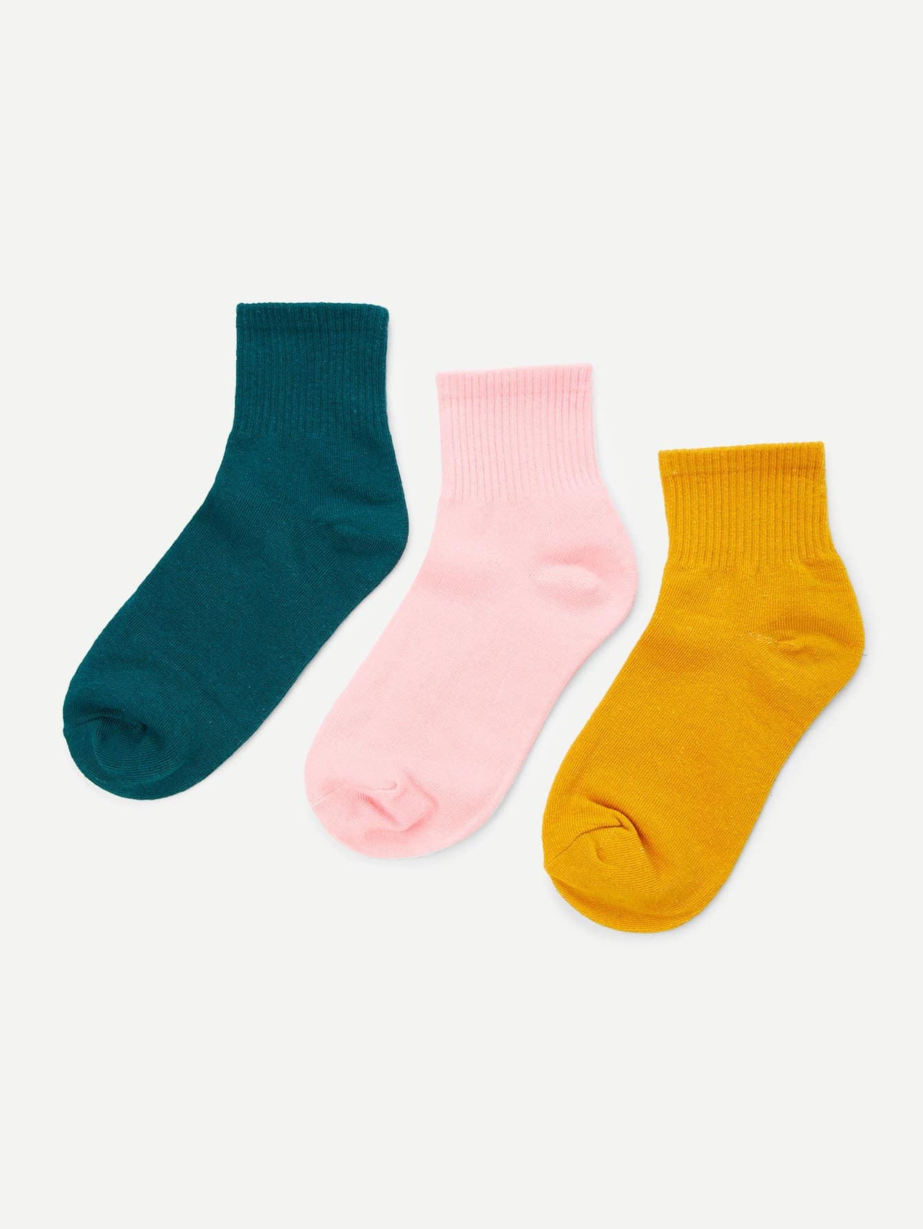 Cotton Ankle Socks 3Pairs