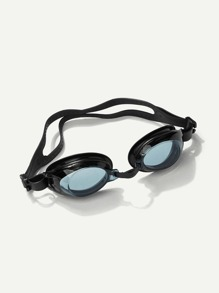 Two Tone Clear Design Swimming Glasses