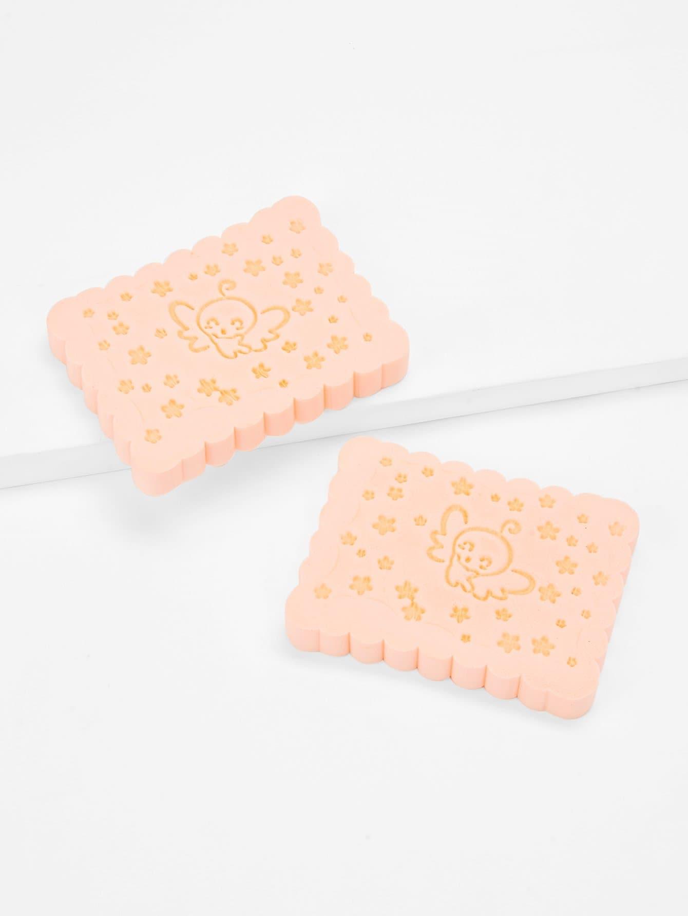 Facial Cleansing Sponge 2pcs 2pcs tongue