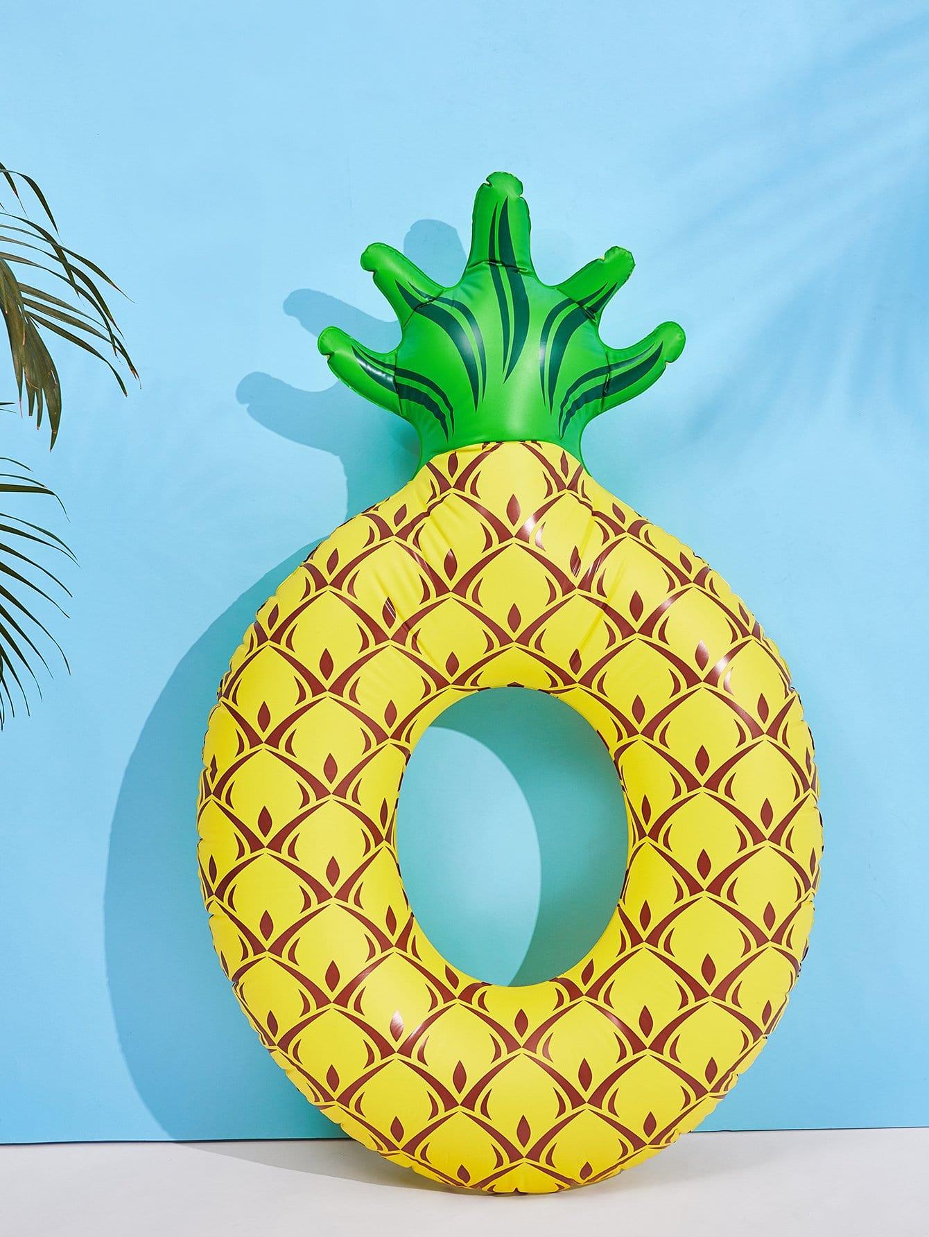 Pineapple Shaped Swimming Ring pineapple shaped pu bag