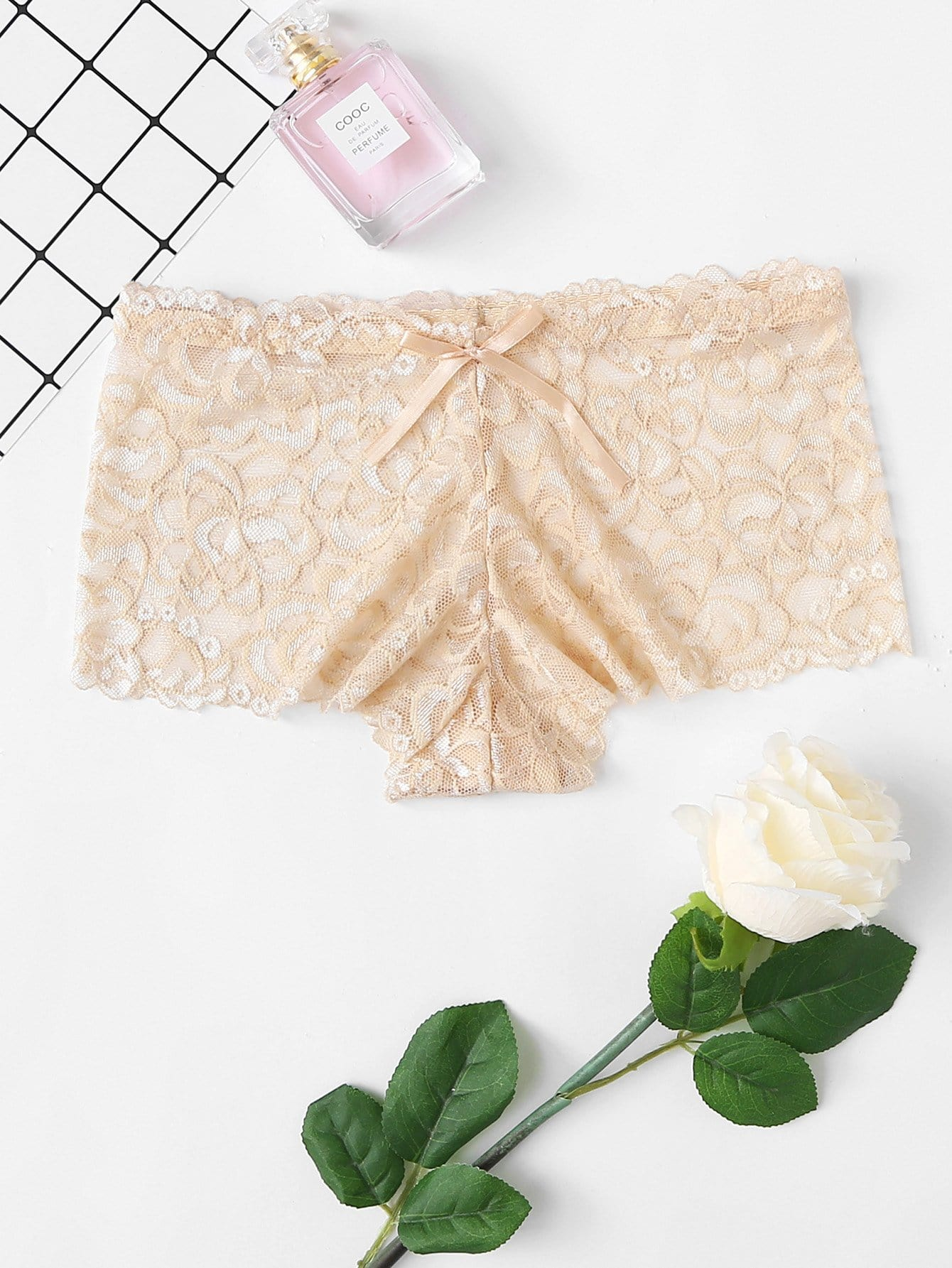Lace Shortie Panty lace up panty