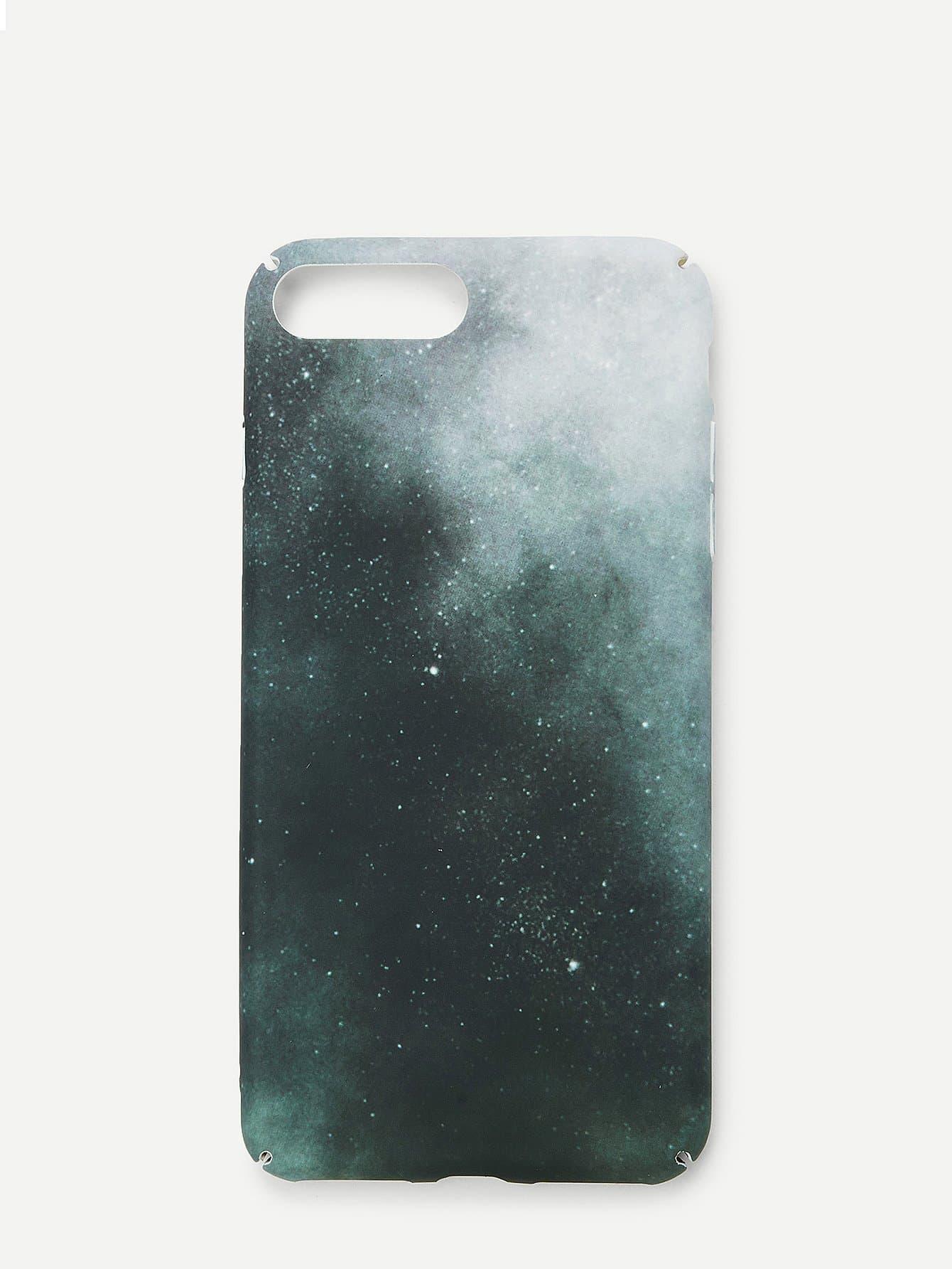 Купить Чехол для IPhone галактика силиконовый, null, SheIn