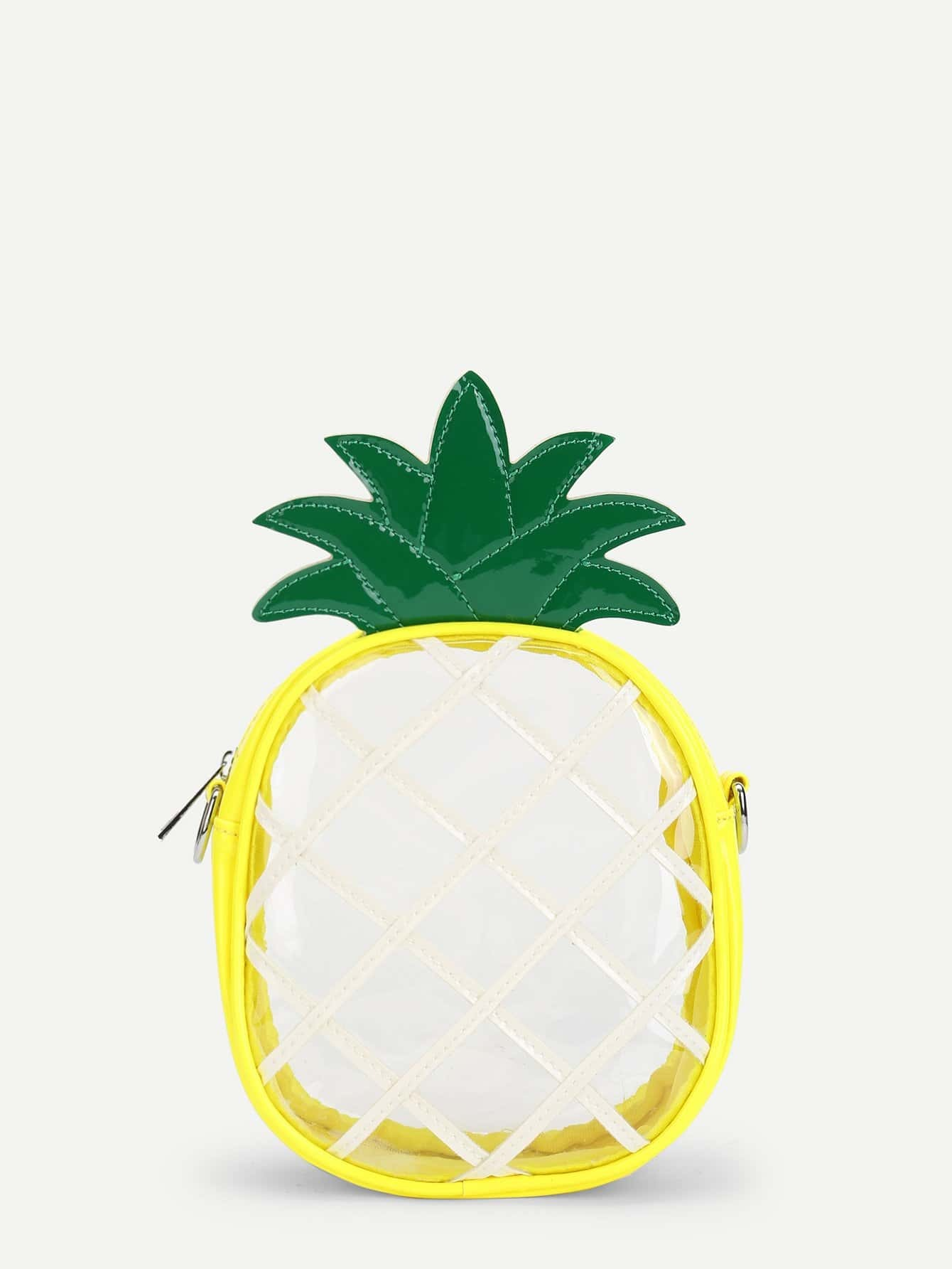 Pineapple Shaped PU Bag pineapple shaped pu bag