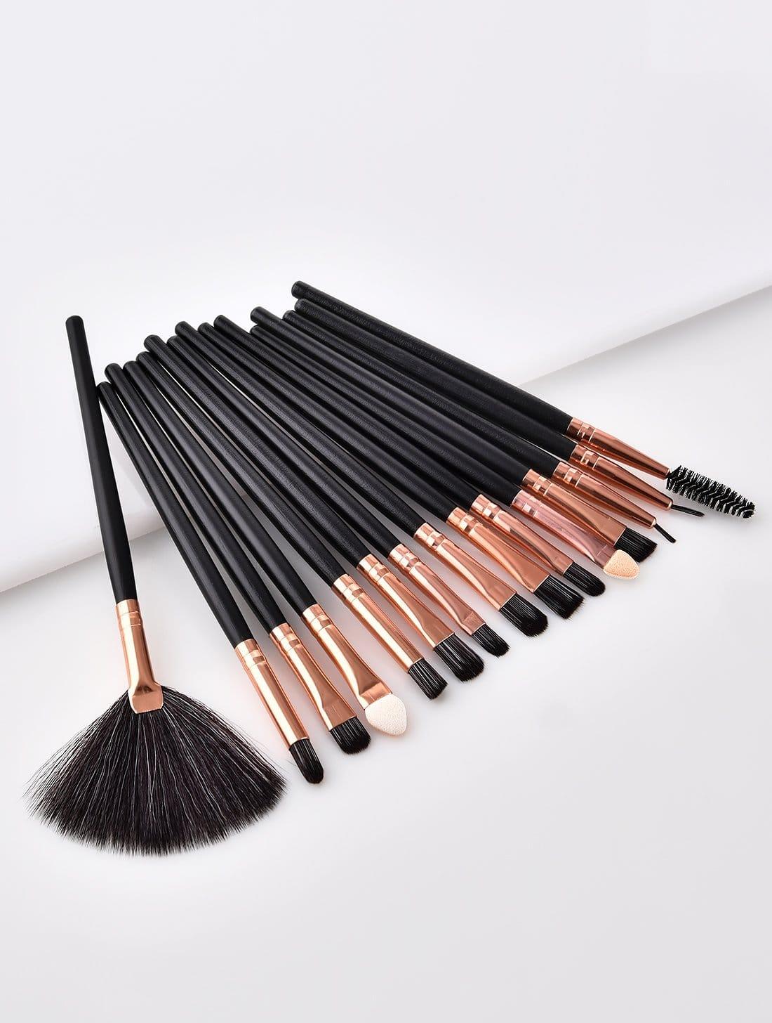 Купить Фантастическая макияж для кистей 15шт., null, SheIn