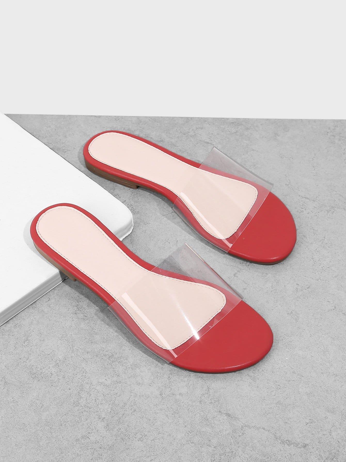 Clear Design Flat Sandals clear design backpack