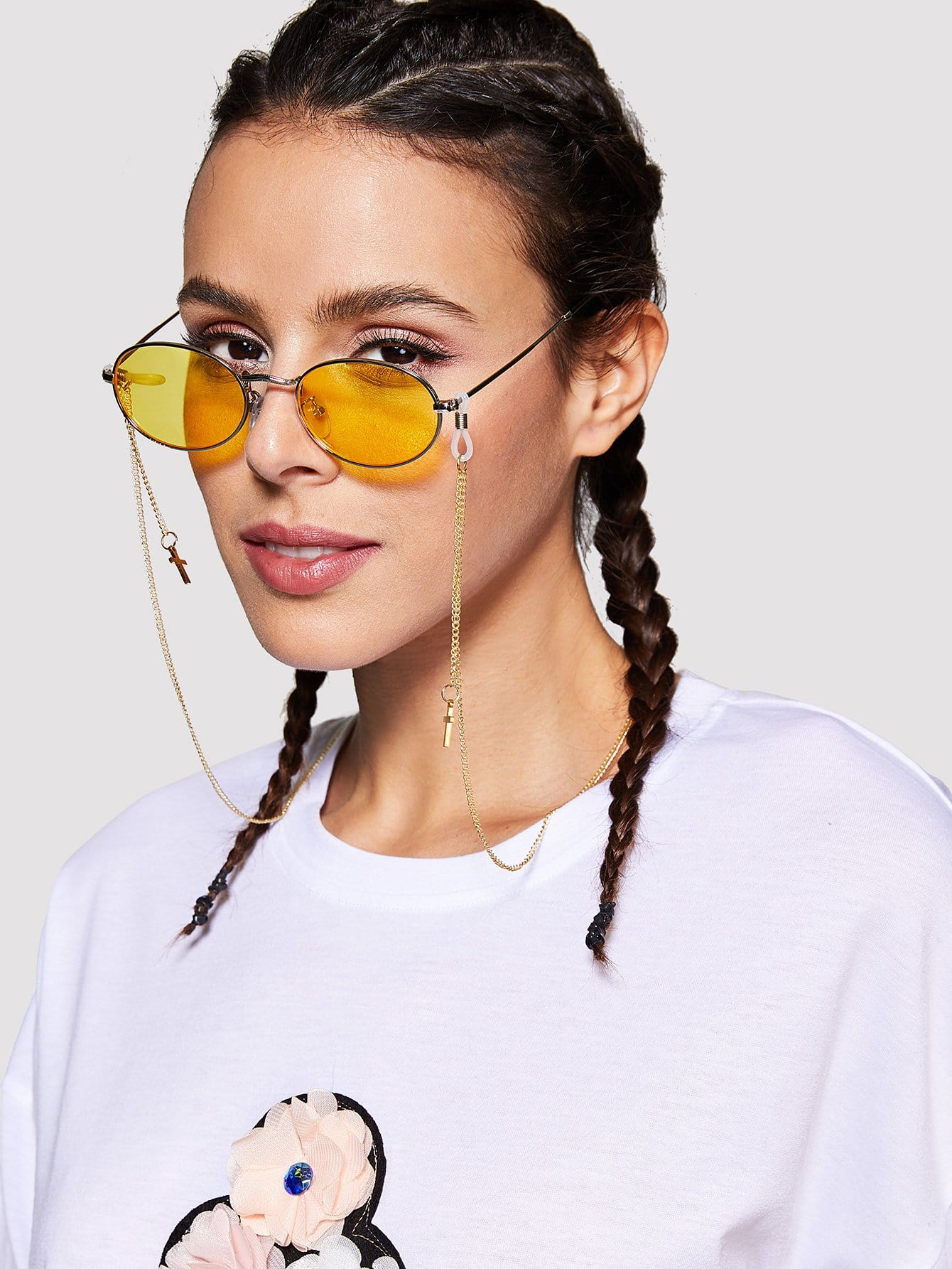 Cross Sunglasses Chain