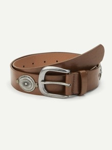 Metal Detail Belt
